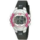 $16.96 Timex Women's T5J151 1440 Sports Digital Black/Pink Resin Strap Watch