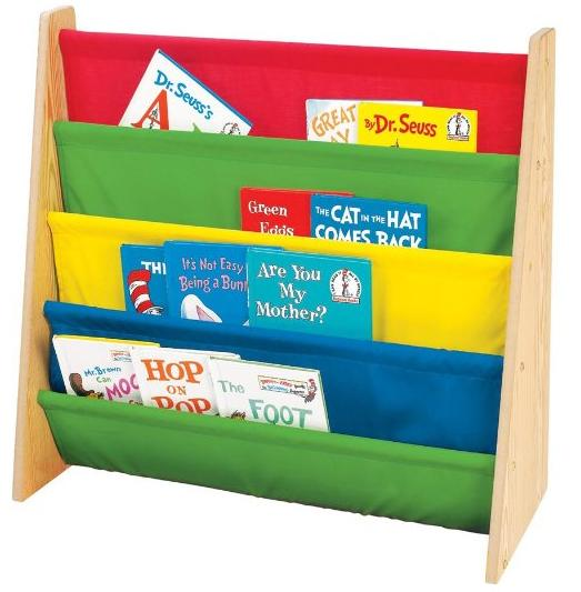 $16.19 Tot Tutors Kids'  Book Rack, Primary Colors @ Amazon.com