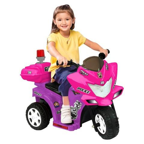 $32.19 Kid Motorz Lil Patrol 6V Ride On - Pink/Purple