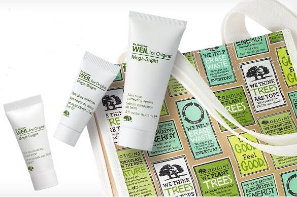Free Mega Bright Musts and Tote with Any $30 Purchase @ Origins