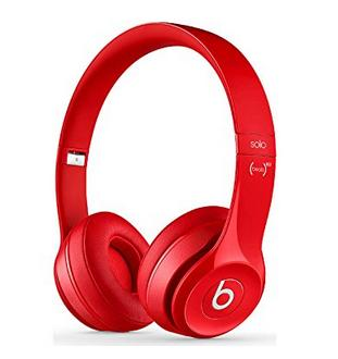 $174.11 Beats Solo 2 Wireless On-Ear Headphone - Red