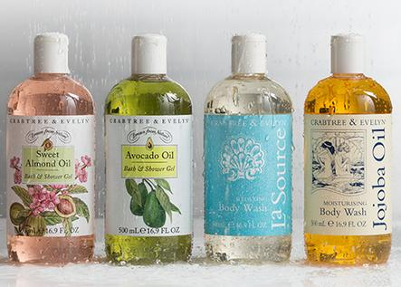 Buy 2 Get 2 Free 500ml Value Size Bodycare @ Crabtree & Evelyn