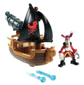 $6.99 Fisher-Price Disney's Jake and The Never Land Pirates - Hook's Battle Boat