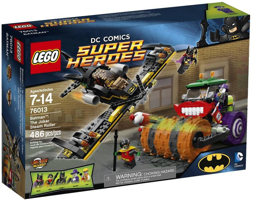 $38.99 LEGO Superheroes 76013 Batman: The Joker Steam Roller