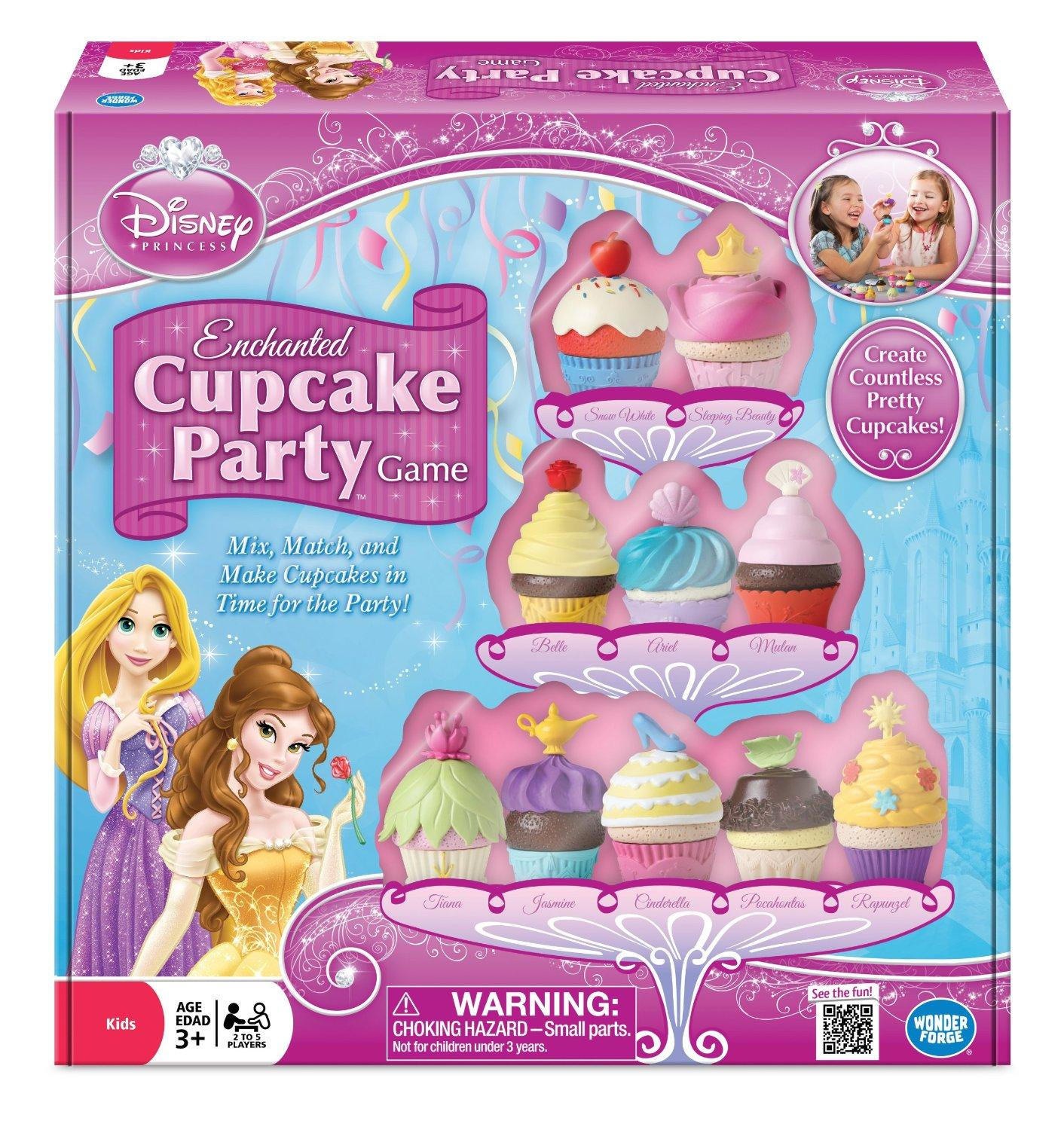 $10.84 Disney Princess Enchanted Cupcake Party Game