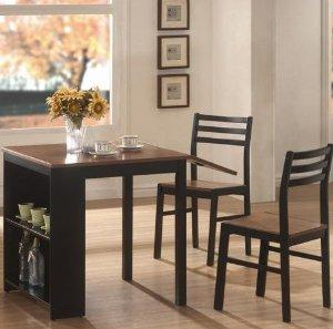 $147 Coaster Home Furnishings 130015 Casual Dining Room 3 Piece Set