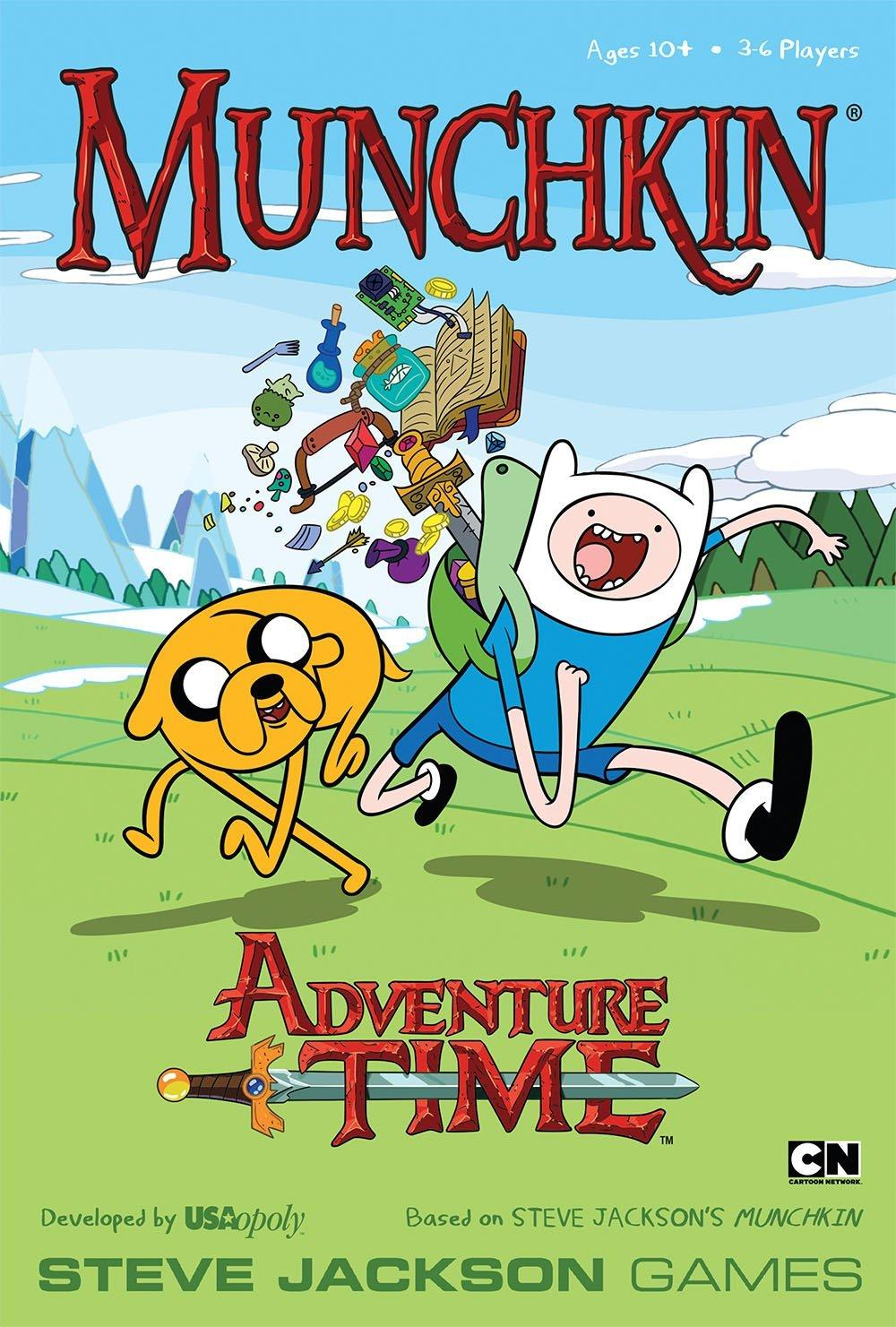 $10.39 Munchkin Adventure Time Game
