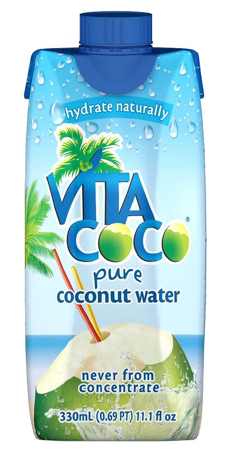 $12.15 Vita Coco Coconut Water, Pure, 11.1 Ounce (Pack of 12)