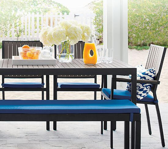 Up to 40% Off Outdoor Furniture @ Crate & Barrel