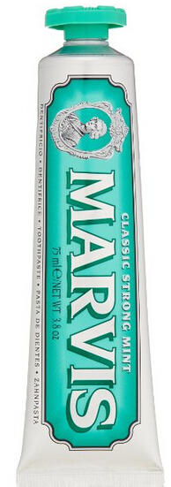 $9.46 Marvis Classic Strong Mint Toothpaste
