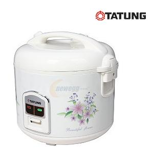 TATUNG TRC-10DC White Direct Heat 10 Cups Electric Rice Cooker