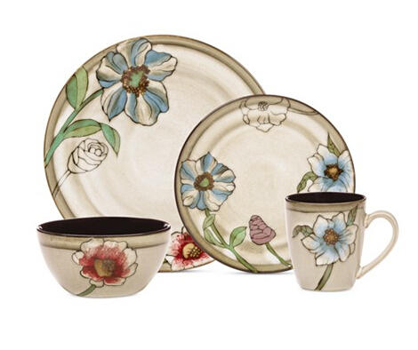 $40 Pfaltzgraff Harker 16-Pc. Dinnerware Set, Service for 4