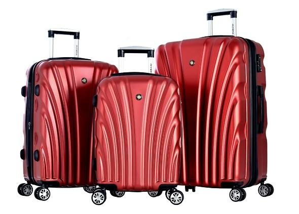 $199.99 Olympia USA Vortex Eco-friendly 3-Piece Luggage Set