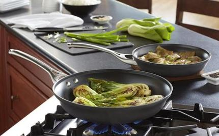 "$34.95 2-Piece Calphalon 12"" & 10"" Contemporary Nonstick Fry Pan Set"