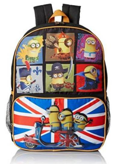 $11.5 Despicable Me Boys' Despicable Me Movie Backpack Through Time