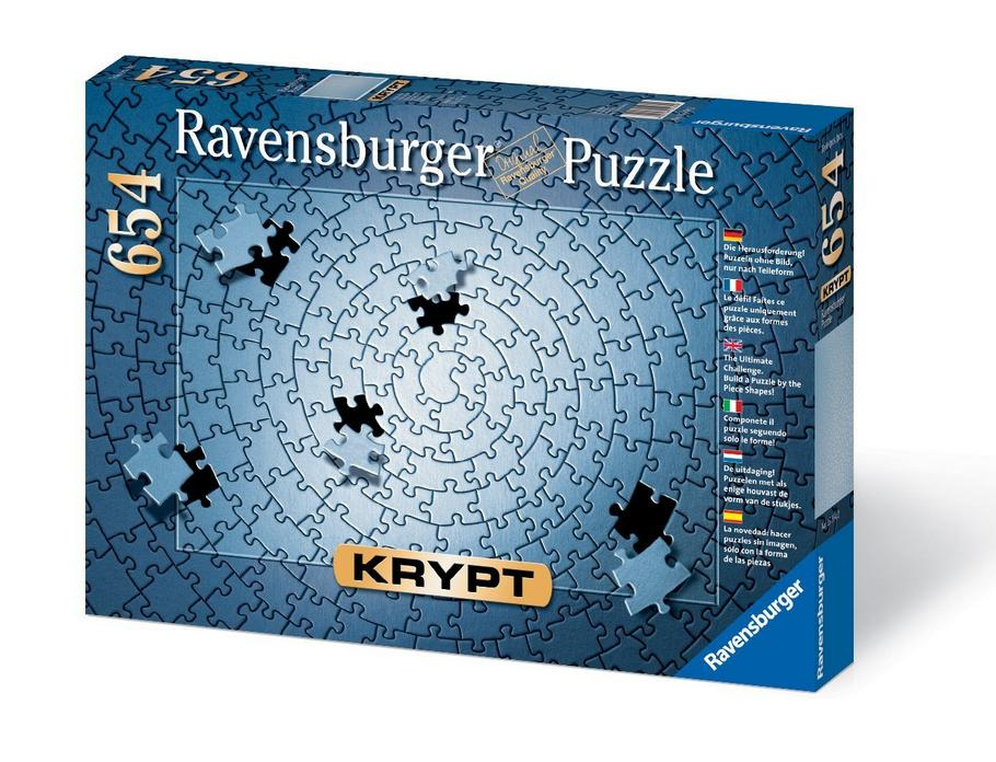 Recommended Amazon Item of the Week $12.03 Krypt Silver 654 Piece Blank Puzzle Challenge