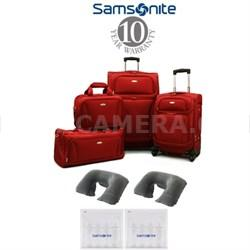 Samsonite 8-Piece Lightweight Luggage Set