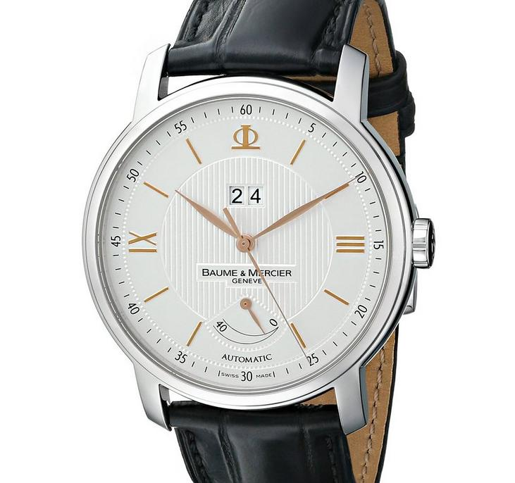 $1504.99 Baume & Mercier Men's A10142 Classima Analog Display Swiss Automatic Black Watch