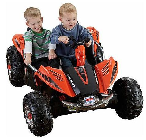 $194.46 Fisher-Price Power Wheels Dune Racer 12-Volt Battery-Powered Ride-On, Orange
