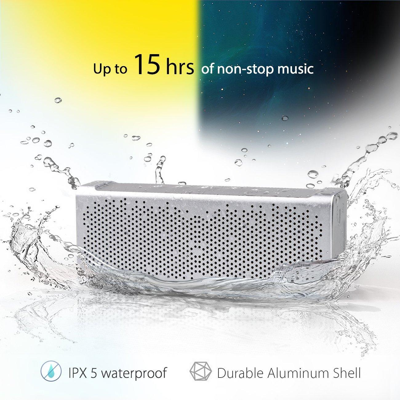 Inateck MercuryBox Aluminum Bluetooth 4.0 Speaker