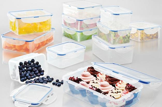 $34.99 Lock & Lock 24-Piece Food-Storage Set
