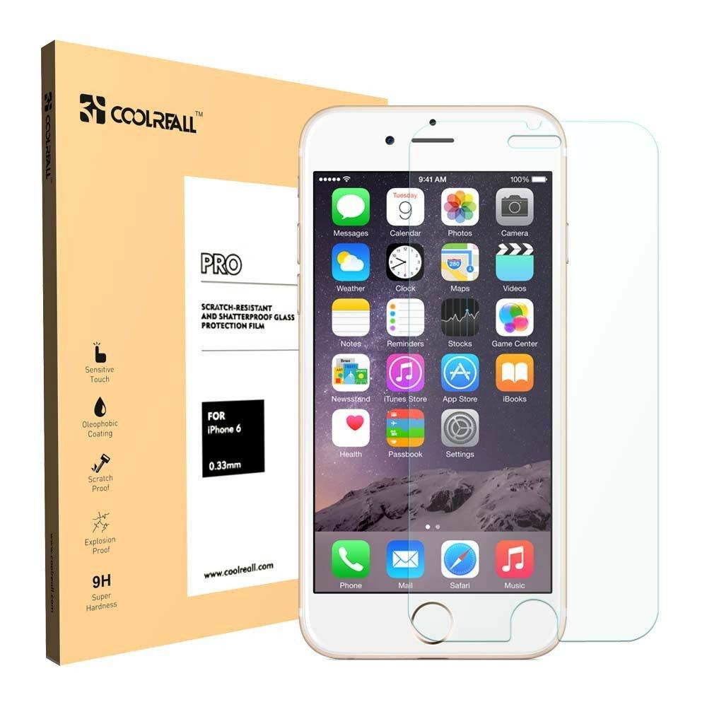 $4.99  Coolreall Cellphone &  iPad tempered glass screen protector