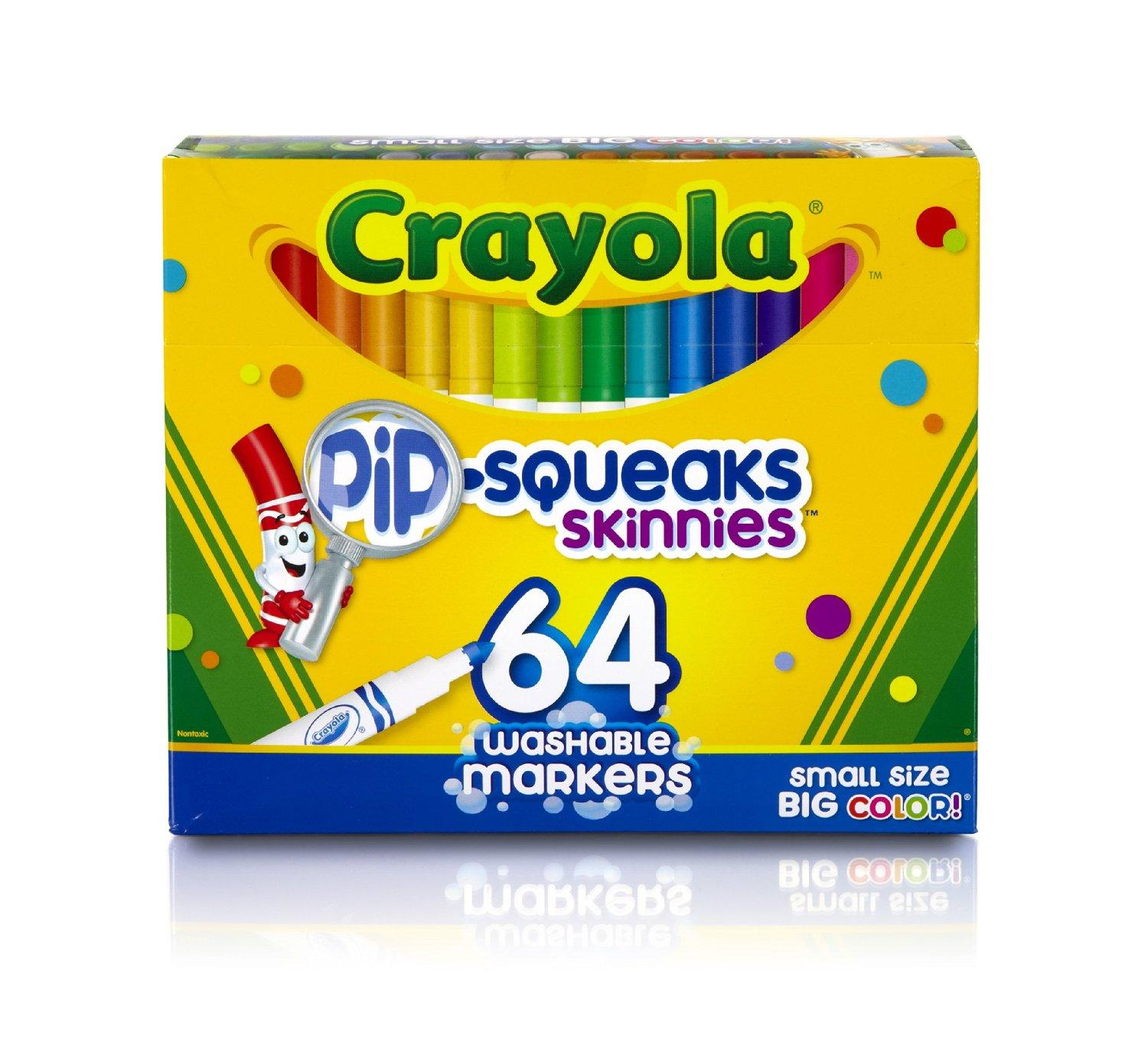 $8.56 Crayola 64 Ct Washable Markers, (58-8764)