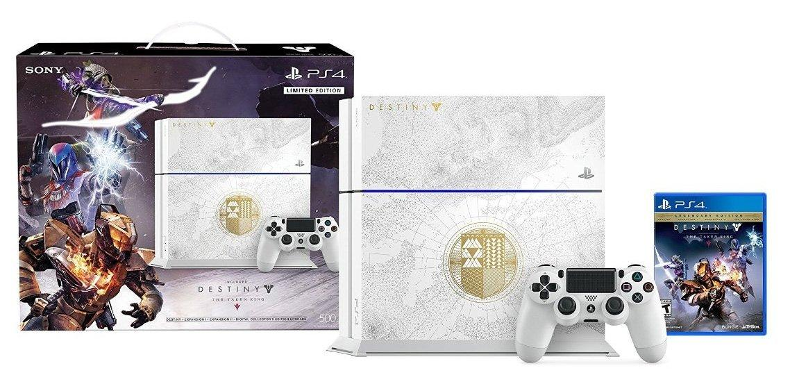 $399 PlayStation 4 Limited Edition Destiny: The Taken King 500GB Bundle