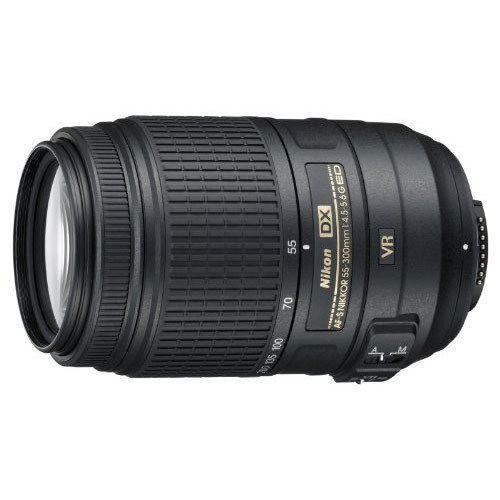 Nikon AF-S DX NIKKOR 55-300mm f/4.5-5.6G ED VR Lens Refurbished