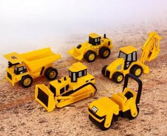 $5.99 Toy State Caterpillar Construction Mini Machine 5-Pack (Styles May Vary)