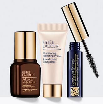 Free 3-Piece Deluxe Gifts with order over $50 @ Estee Lauder