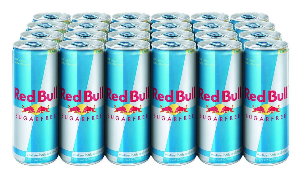 $26.40 Red Bull Sugarfree, Energy Drink, 8.4-Fluid Ounce Cans, 24 Pack