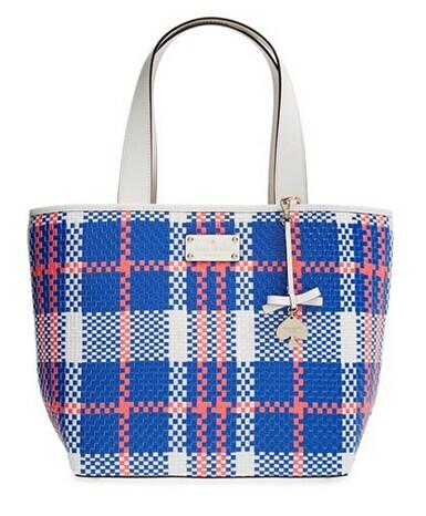 $163.98 kate spade new york 'bay drive summer' woven tote @ Nordstrom