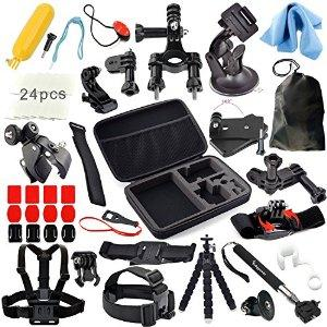 $36.99 Erligpowht Accessories Bundle kit for GoPro Hero 4 3+ 3 2 1