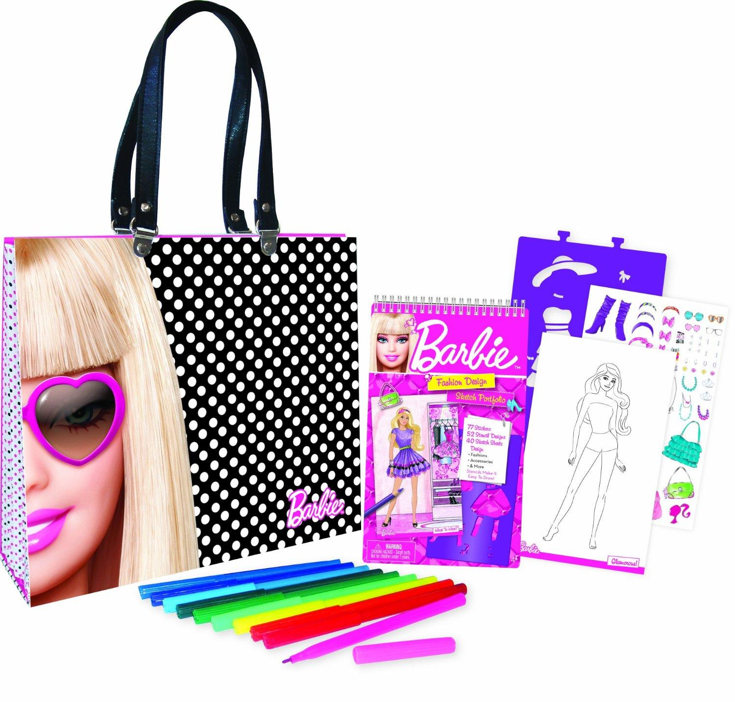 $15.98 Barbie Artist Tote Set