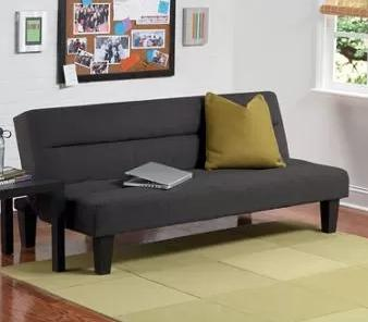 $87 Kebo Futon Sofa Bed, Multiple Colors