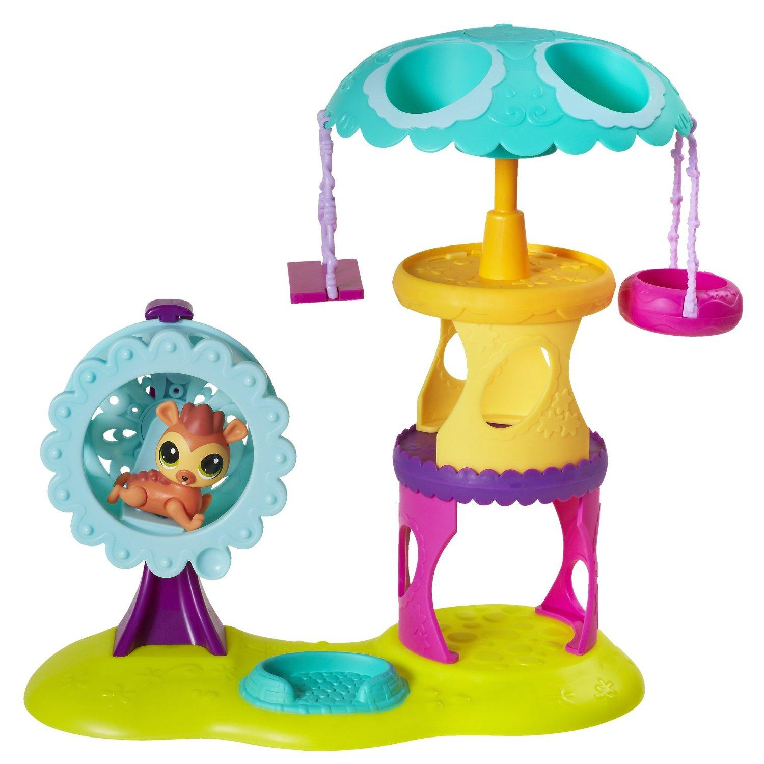 $9.81 Littlest Pet Shop Playtime Park with Russell Ferguson Playset