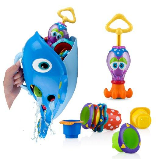 $19.99 Nuby Bath Toy Gift Set
