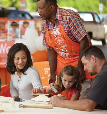 Free Chalkboard Door Hanger Workshop @ Home Depot