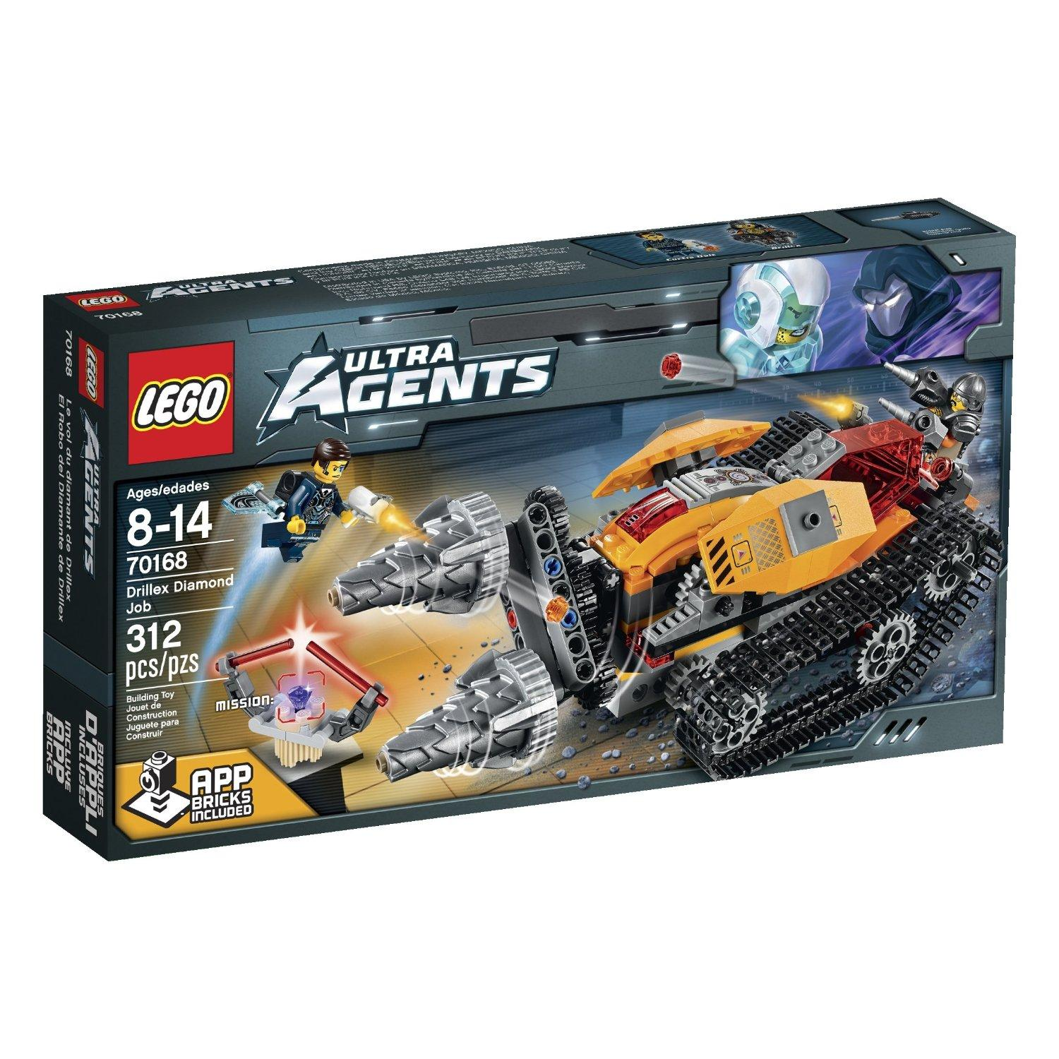 $20.99 LEGO Ultra Agents Drillex Diamond Job Toy