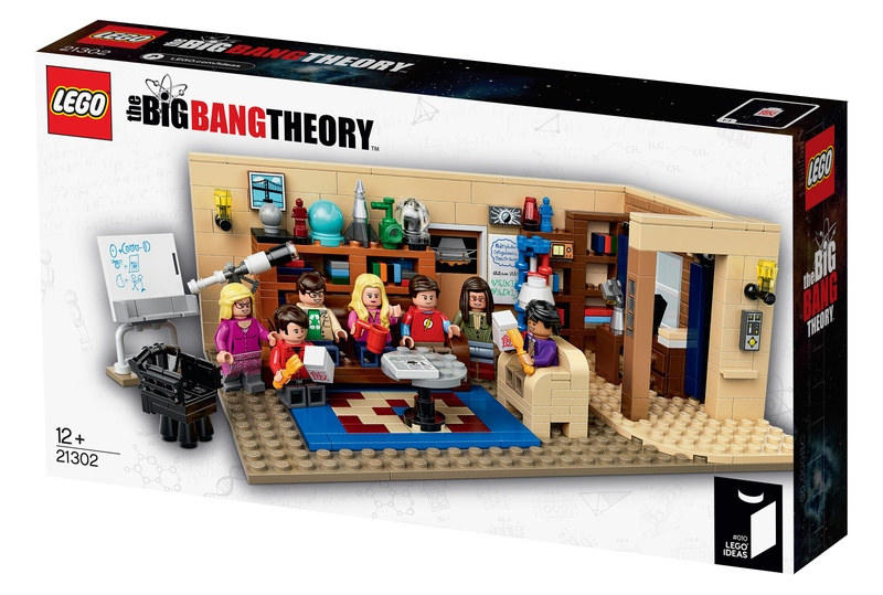 $59.95 LEGO Ideas The Big Bang Theory 21302 Building Kit