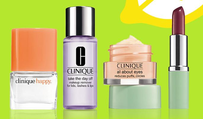 Free 4 minis + Free Shipping with Any $35 Purchase @ Clinique