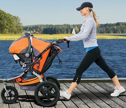 FREE Carseat valued $199.99 with Any BOB Jogging Stroller and Infant Carseat Adapter Purchase @ Albee Baby