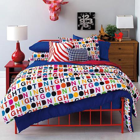 9 by Novogratz Sweet Dreams Bed in a Bag Bedding Set Twin/Full Size 6 Piece