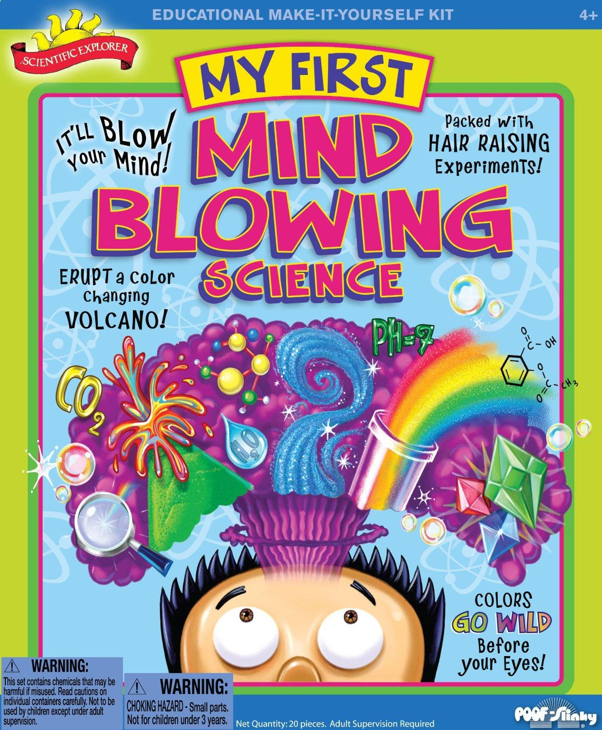 $12.88 Scientific Explorer My First Mind Blowing Science Kit