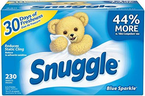 $6.87 Snuggle Fabric Softener 清香烘干纸 x 230张