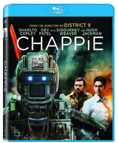$11.99 Chappie (Blu-ray + UltraViolet)