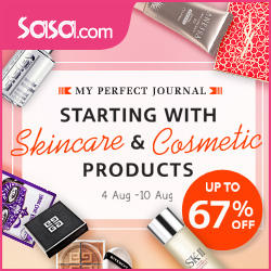 Up to 67% Off Skincare & Cosmetic Products Sale @ Sasa.com