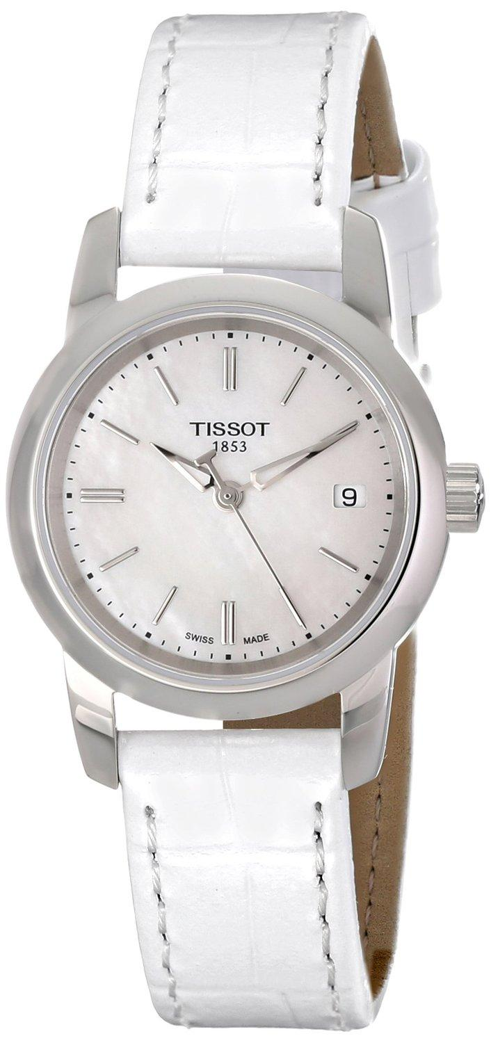Tissot Women's Classic Dream Analog Display Quartz White Watch