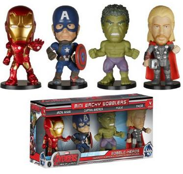 Funko Wacky Wobbler: Avengers 2 Mini Wobbler Action Figure